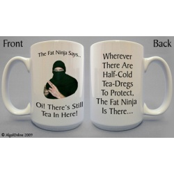 Hands Off Mug - Fat Ninja