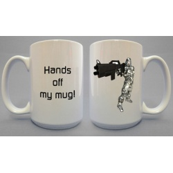 Hands Off Mug - Space Trooper